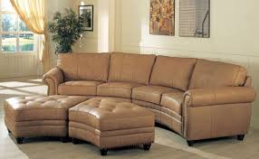 sofa beautiful curved leather sectional sofa how to reupholster