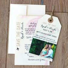 save the date luggage tags wedding invitation india map save the date luggage tag magnet