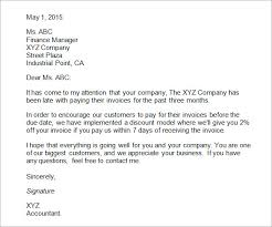 sample business letter free business template