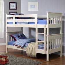 Prices Of Bunk Beds Beautiful White Painted Wood Bunk Bed Design Idea For With