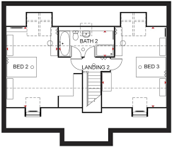 floor plan david wilson homes plans bedroom detached house for