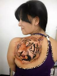 amazing shoulder tiger designs and ideas tattoos for