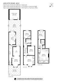Westfield London Floor Plan 5 Bedroom Property For Sale In Aycliffe Road London W12 1 250 000