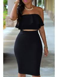 high waisted pencil skirt ruffled top high waisted pencil skirt twinset black skirts