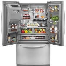 cabinet depth refrigerator lowes refrigerator buying guide