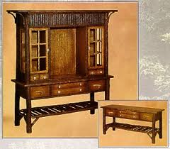 old hickory big ranch china hutch u0026 buffet