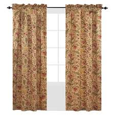 Waverly Curtain Panels Waverly Imperial Dress Curtain Panel Antique 42 X84 Target