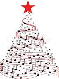 Music Christmas Tree Decorations by Christmas Music Tree Stock Vector Colourbox