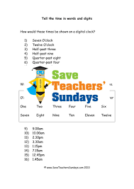 free worksheets time worksheets year 3 tes free math