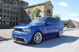 blue range rover vogue enkahnz platinum range rover vogue barugzai