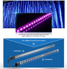 led shooting star lights led falling star disco pixel light 3d effect tube decorative drop