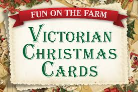 images of victorian christmas cards have fun on the farm with victorian christmas cards your town monthly