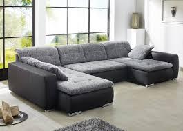 kunstleder sofa schwarz sofa ferun 365 200 185cm webstoff anthrazit kunstleder