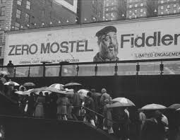 broadway marquee fiddler on the roof revival winter garden theatre