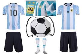 amazon com argentina messi 10 home kids soccer jersey all youth