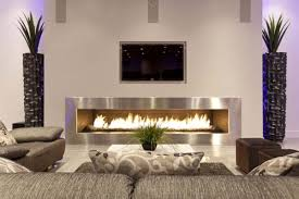 living room sectional sofa and coffee table with gas fireplace