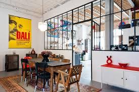 cuisine atelier d artiste hôtel transformé en loft et atelier d artiste à bordeaux