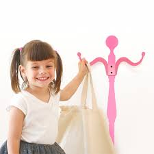 pink coat rack wall decal wall decal hangers wall decals