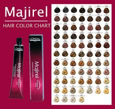 Shades Of Red Color Chart by Loreal Hair Colour Chart Reds New Hair Style Collections