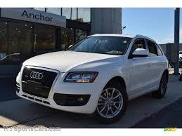 Audi Q5 White - 2009 audi q5 3 2 premium quattro in ibis white 038423