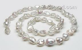 natural necklace pearl images Natural white keshi pearl necklace aa 7 5 8 5mm pearl jewelry jpg