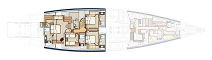 Mega Yacht Floor Plans by Oyster 125 Twilight Oyster Yachts