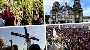 overview holy week traditions in the philippines