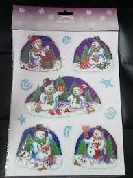 Disney Frozen Christmas Window Decorations by Christmas Window Decoration Gel Stickers Frozen Elsa Olaf