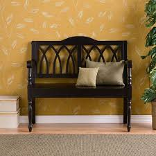 Wood Bench With Back And Storage Wood Bench With Backrest Plans by Benches For The Home On Sale 250 Home Benches To Choose From