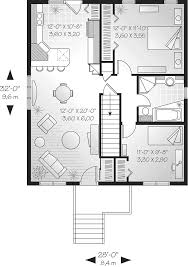 windfall split level home plan 032d 0540 house plans and more 28 x