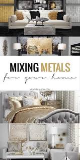 home decor mixed metals