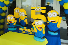 minion centerpieces kara s party ideas despicable me minion themed birthday party with
