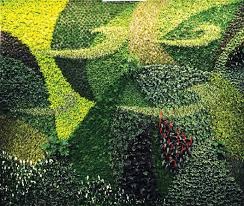 terrific french living wall artist green wall living moss wall art