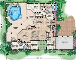 mediterranean house plan 4 bedroom 5 bath mediterranean house plan alp 08by allplans com