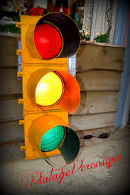 great retro vintage traffic light for sale on etsy mans cave