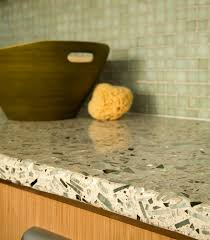 Recycled Glass Backsplashes For Kitchens Interesting Modern Kitchen With Sleek Black Verde Labrador Glass