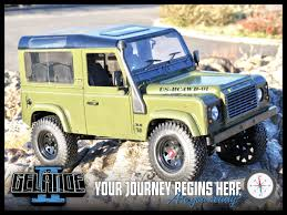 land rover italeri rc4wd gelande ii truck kit with defender d90 body set z k0001