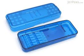 pencil box sun arm pencil blue jetpens