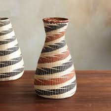 handwoven tall nyanza baskets decor home furnishings robert