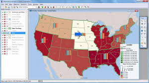 Az Zip Code Map Maptitude 2017 Thematic Mapping Heat Map Software Bubble Maps