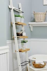 Bathroom Storage Ladder Ikea Hack Bathroom Shelf Thistlewood Farm