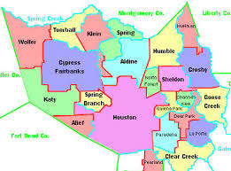 houston map districts houston area school districts