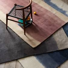 Blue Ombre Rug Ombre Dye Rug West Elm