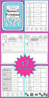 numbers printables counting u0026 cardinality practice for