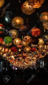 lanterns new year taiwan lantern festival new year hanging painted lanterns