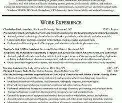sample resumes for office assistant best administrative assistant