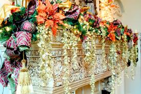 beautifully decorated christmas homes amazing gorgeous fireplace