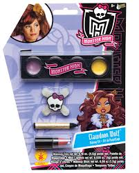 Monster High Draculaura Halloween Costumes Monster High Draculaura Makeup Kit Mr Costumes