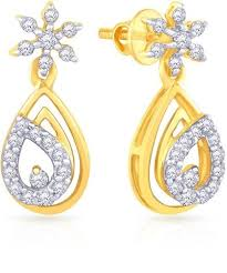 malabar earrings malabar gold diamonds mumbai malabar diamond earrings and