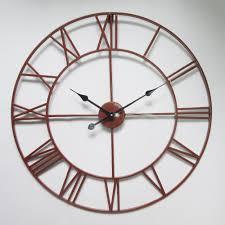 popular classic metal clock buy cheap classic metal clock lots